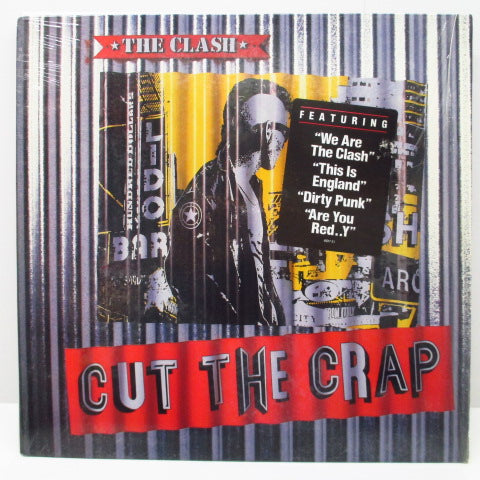 CLASH, THE - Cut The Crap (US Orig.LP/Red Title CVR)