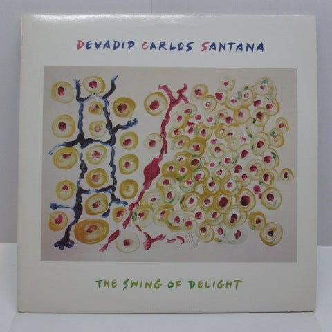CARLOS SANTANA (DEVADIP CARLOS SANTANA) - The Swing Of Delight (US:Orig.2xLP)