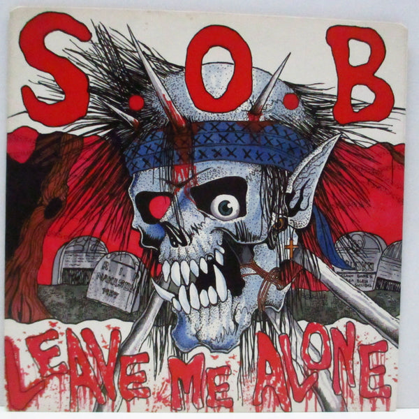 "S.O.B. - Leave Me Alone (Japan Orig.7"")"