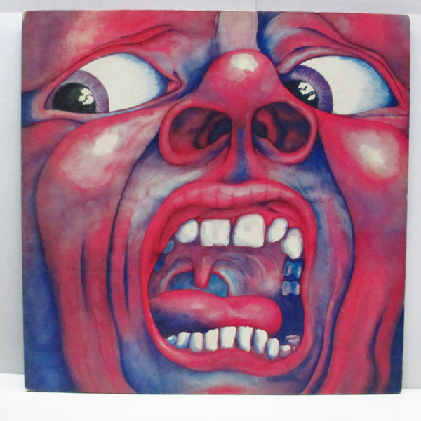 KING CRIMSON - In The Court Of The Crimson King (UK '72 4th Press LP #3/No Robor Limited Credit Matt GS)