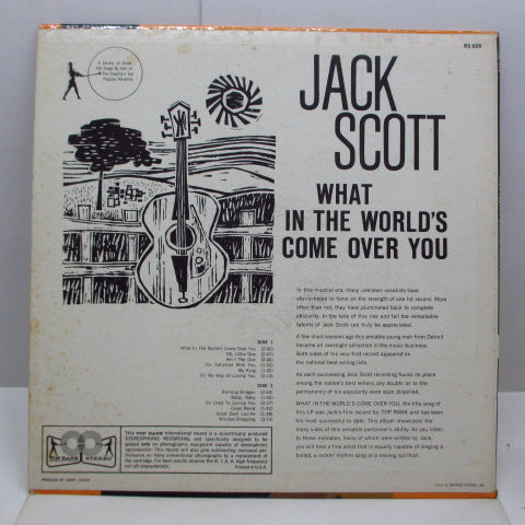 JACK SCOTT - What In The World's Come Over You (US Orig.Stereo LP/CS)