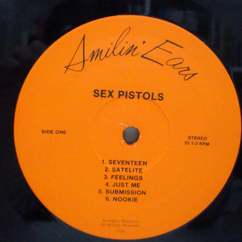 SEX PISTOLS (セックス・ピストルズ)  - The Filth And The Fury (US Unofficial LP)