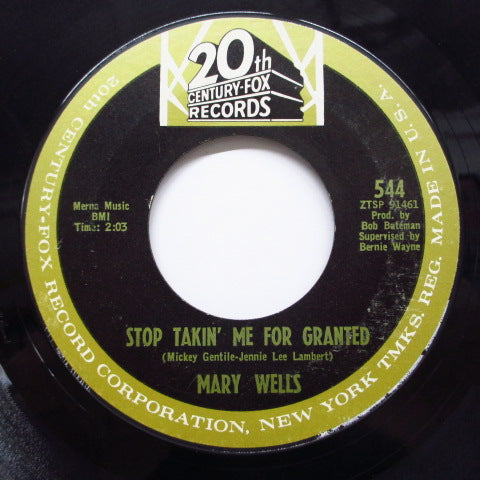 MARY WELLS - Ain't It The Truth (Orig)