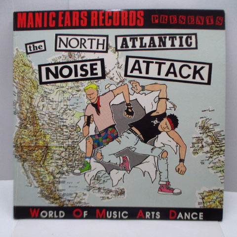 "V.A. - The North Atlantic Noise Attack (UK Orig.LP+12"")"