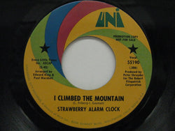 STRAWBERRY ALARM CLOCK - I Climbed The Mountain / Three (US Promo)