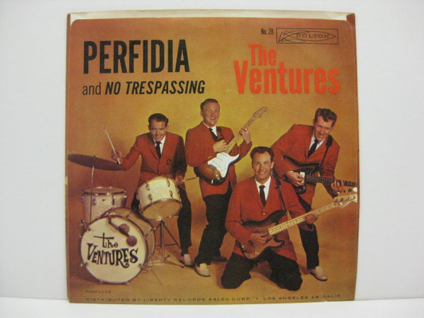 VENTURES - Perfidia / No Trespassing (Orig.PS)