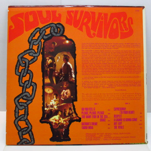 SOUL SURVIVORS - When The Whistle Blowns Aything Goes (US Orig.Stereo LP)