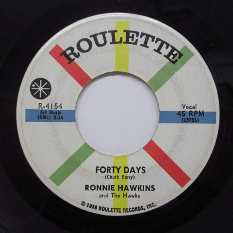 RONNIE HAWKINS - Forty Days (Orig)