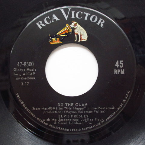 ELVIS PRESLEY - Do The Clam / You'll Be Gone (US Orig)