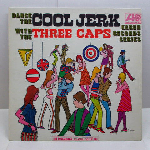 CAPITOLS (THREE CAPS) - Dance The Cool Jerk (UK Orig.Mono/CS)