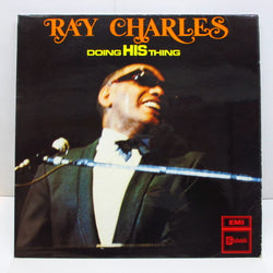 RAY CHARLES - Doing His Thing (UK Orig.Mono LP/CFS)