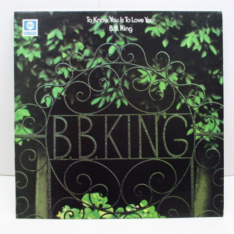 B.B.KING - To Know You Is To Love You  (UK Orig.Stereo LP)