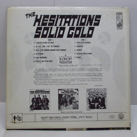 HESITATIONS - Solid Gold (US Orig.Stereo LP)