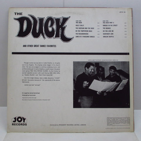 JACKIE LEE - The Duck (UK '71 Re Stereo LP/CS)