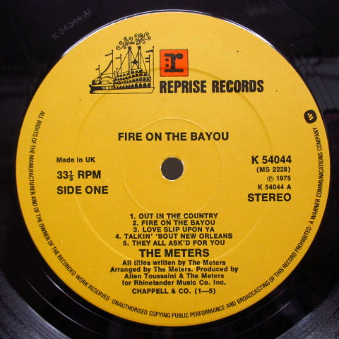 METERS-Fire On The Bayou (UK: 70's Re)