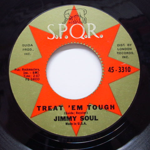 JIMMY SOUL - Treat 'Em Tough (Orig)