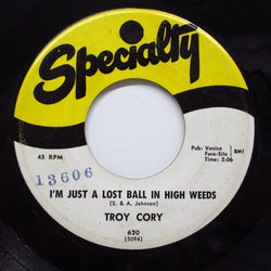 TROY CORY - I'm Just A Lost Ball In High Weeds (Orig)