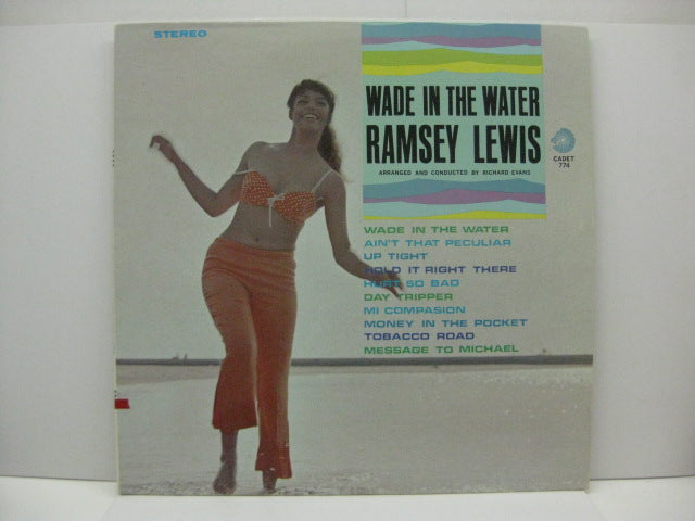 RAMSEY LEWIS TRIO - Wade In The Water (US:Orig.STEREO)