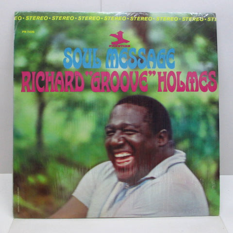 RICHARD(GROOVE)HOLMES - Soul Message (US Orig.Stereo LP)