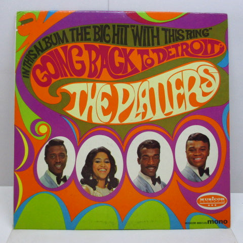 PLATTERS - Going Back To Detroit (US Orig.Mono LP)