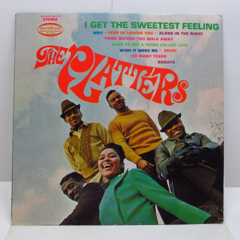 PLATTERS - I Get The Sweetest Feeling (US Orig.Stereo LP)
