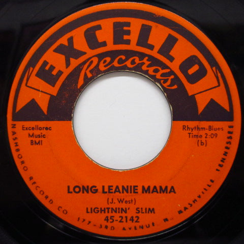 LIGHTNIN' SLIM - Long Leanie Mama