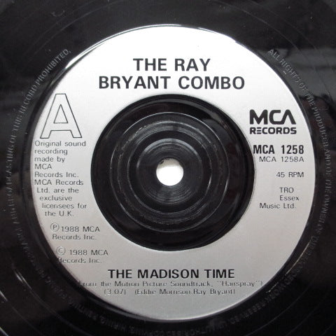 RAY BRYANT COMBO / JAN BRADLEY - The Madison Time (UK O.S.T)