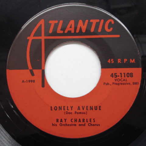 RAY CHARLES - Leave My Woman Alone (US Orig)