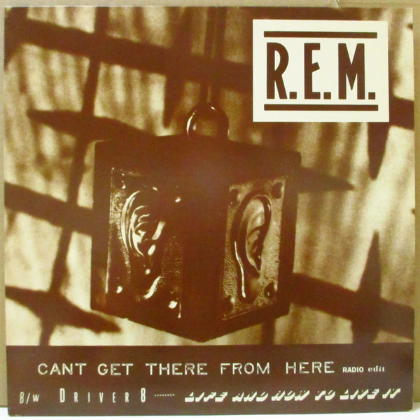"R.E.M. - Can't Get There From Here - Extended Mix +2 (US Promo.12"")"