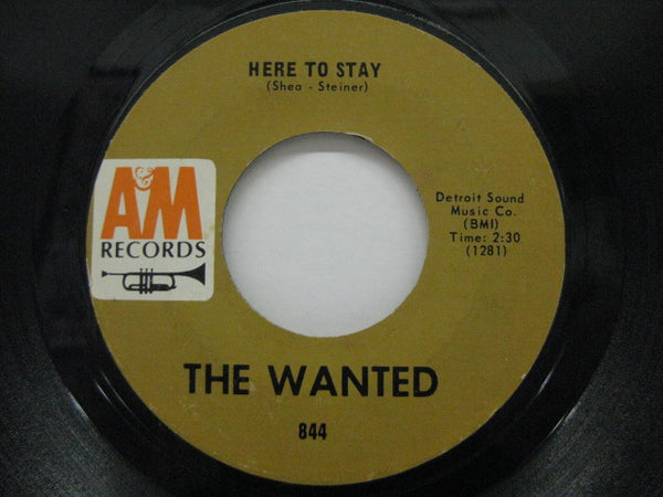 WANTED - Here To Stay / In The Midnight Hour (US Orig)