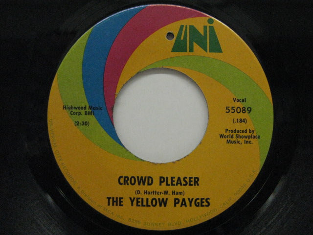 YELLOW PAYGES - Crowd Pleaser