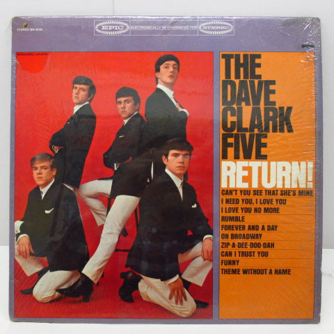 DAVE CLARK FIVE - Return ! (US Orig.Stereo LP)