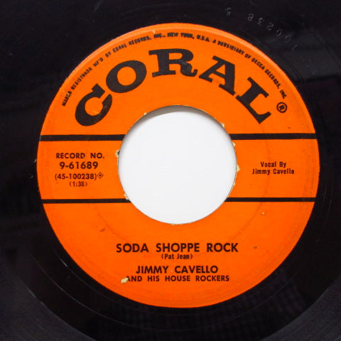 JIMMY CAVELLO & HOUSE ROCKERS - Soda Shoppe Rock (Orig)