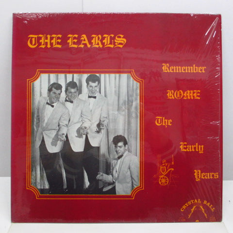 EARLS - Remember Rome The Early Years (US Orig.Mono LP)