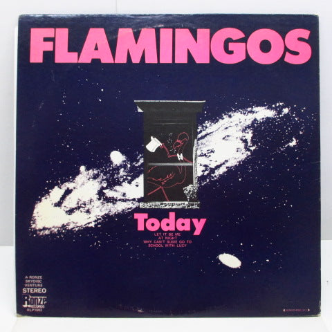 FLAMINGOS - Today (US Orig.Stereo LP/GS)