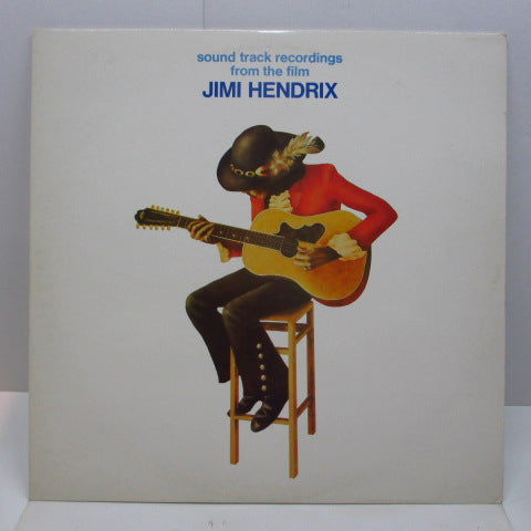 JIMI HENDRIX - Sound Track Recordings From The Film Jimi Hendeix (UK 70's Reissue 2xLP)