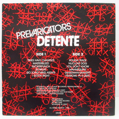 PREVARICATORS, THE - Detente
