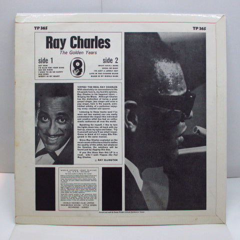 RAY CHARLES - The Golden Years (UK 70's Red Label LP/CFS)