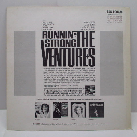 VENTURES - Runnin' Strong (UK Orig.Stereo LP/CS)