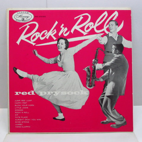 RED PRYSOCK - Rock And Roll (US Orig.Mono LP)