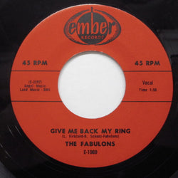 FABULONS - Give Me Back My Ring (Reissue)