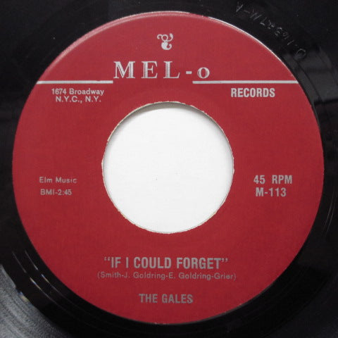 GALES - If Could Forget (Reissue)