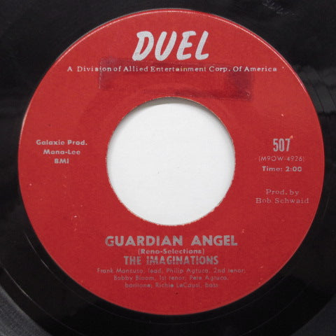 IMAGINATIONS - Guardian Angel (US '62 Reissue)