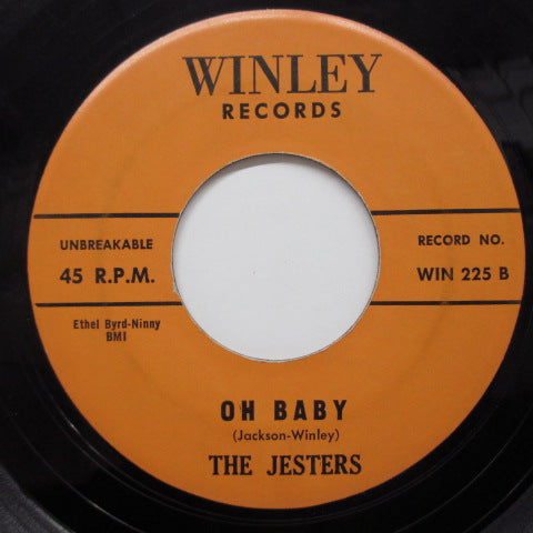 JESTERS - Oh Baby / The Plea (Orig)