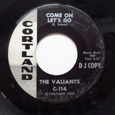 VALIANTS  - Come On Let's Go (Promo)