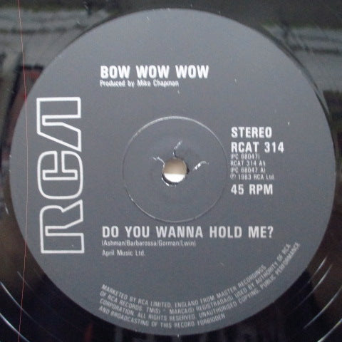 "BOW WOW WOW - Do You Wanna Hold Me? +2 (UK Orig.12"")"