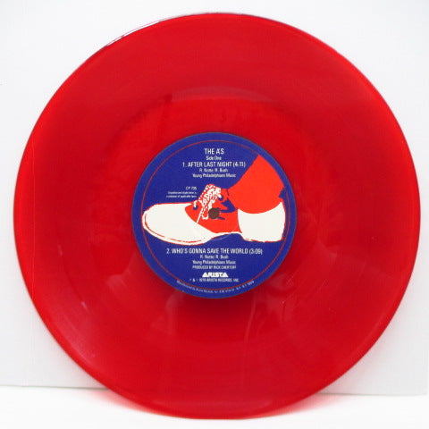"A'S, THE - After Last Night (US Ltd.Red Vinyl 10"")"