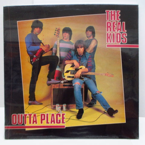 REAL KIDS, THE - Outta Place (US Orig.LP)