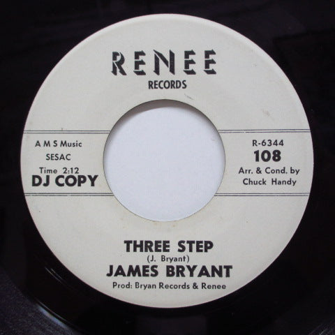 JAMES BRYANT - Hey There You Girl / Three Step