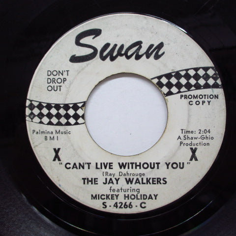 JAY WALKERS feat. MICKEY HOLIDAY - Can't Live Without You (Promo)